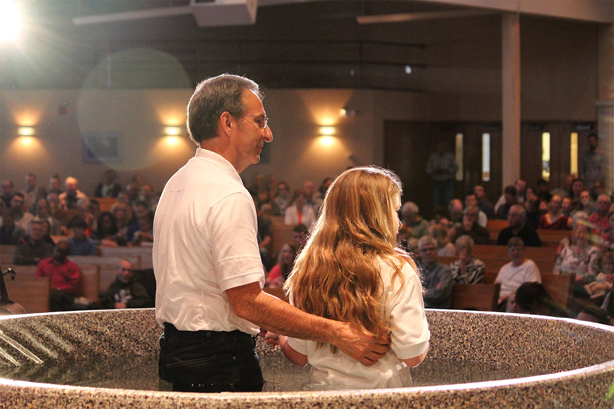 Baptisms in Bemidji